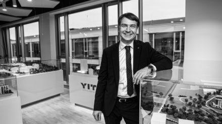 Marek Lokaj replaces Vladimir Dvořák atop YIT Stavo