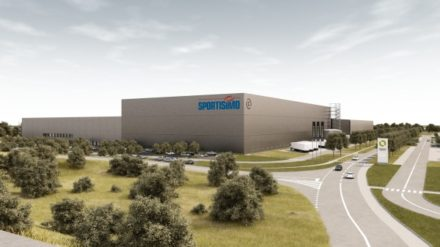 Sportisimo's 90,000 sqm shed by Contera to complete in 2022