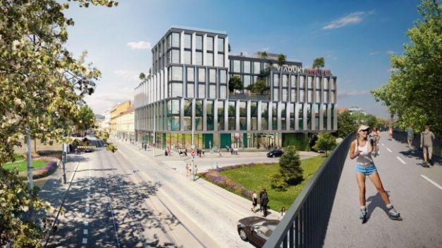 JRD tries Prague's office market with Viadukt Anděl