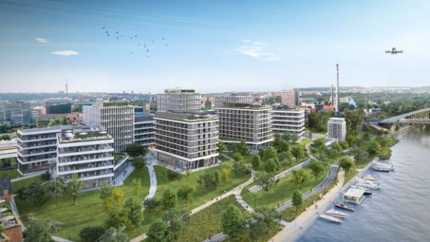 Skanska kicks off Port7 leasing with Eye Centre Prague