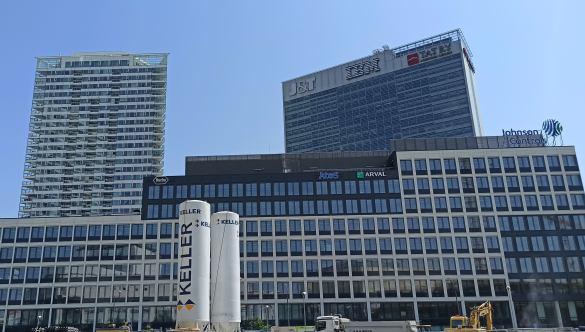 Bratislava office vacancy stuck above 12%