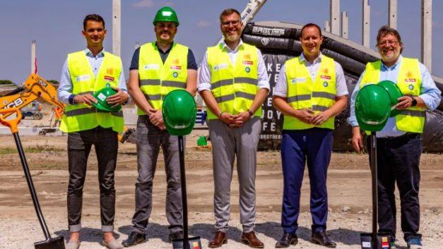Karimpol launches construction of Squarebizz Bory