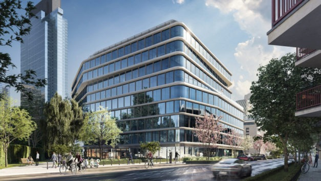 Lincoln Property Company buys Warsaw office project from Penta with ENERN